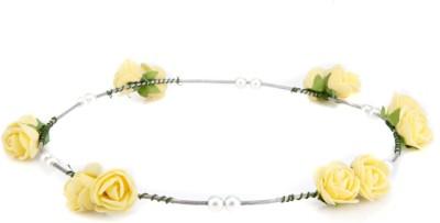 Trinketbag Flowers In My Hair Yellow Tiara Head Band