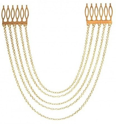 GemRoute Multi-string Hair Chain(Gold)
