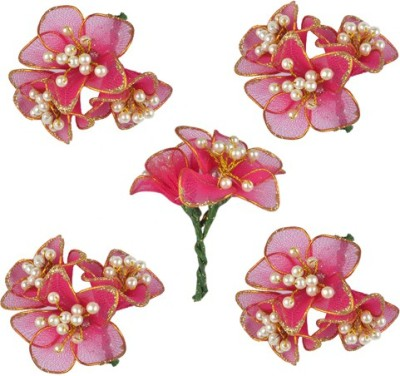 Majik Flowers for Bun Making Hair Clip