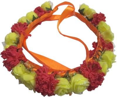 Apeksha Arts Floral Tiyara With Flowers Head Band