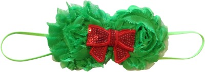NeedyBee Green and Red Head Band