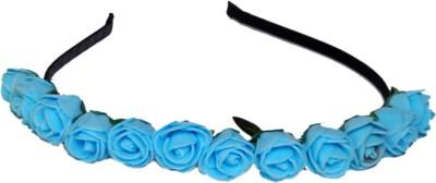Idha Blue Roses Valentine Hair Band