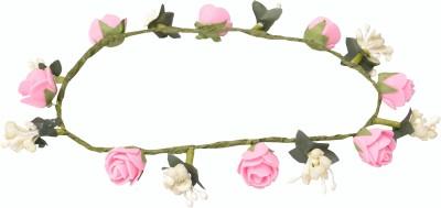 Loops n knots Tiara Head Band(Pink)