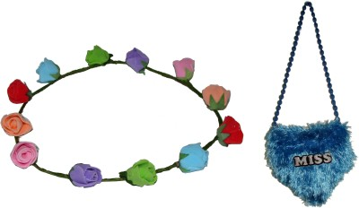 GD Tiara with Sling Bag Hair Accessory Set