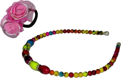 GD Multicolor Pearl & Floral Hair Accessory Set
