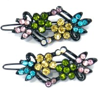 SPM Pair Of Elegant New Hairclips38 Hair Clip(Multicolor)