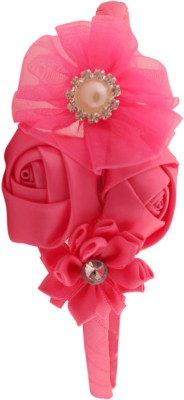 Pikaboo Roses And Pearls Hair Band