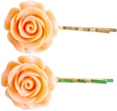 Bows Are Wows Pastel Orange Pins Hair Pin