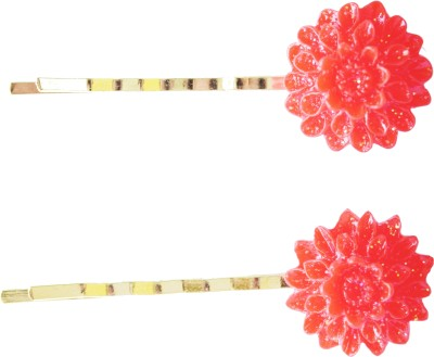 Bows Are Wows Chrysanthemum Red Beauty Hair Pin