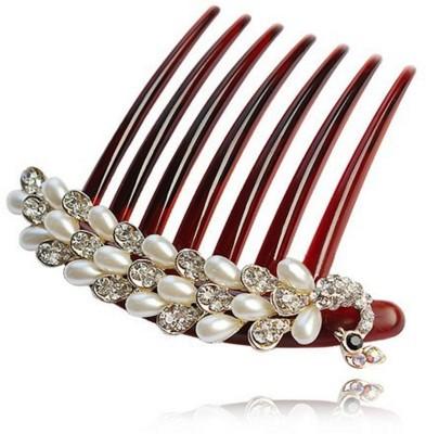 Nexessories Pearl Peacock Hair Pin