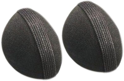 Pankh 2 Pcs Hair Puff Hight Bun(Black)
