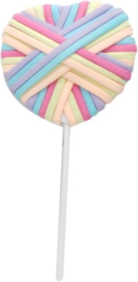 FashBlush Forever New Pop Pastels Heart Lollipop Hair Accessory Set