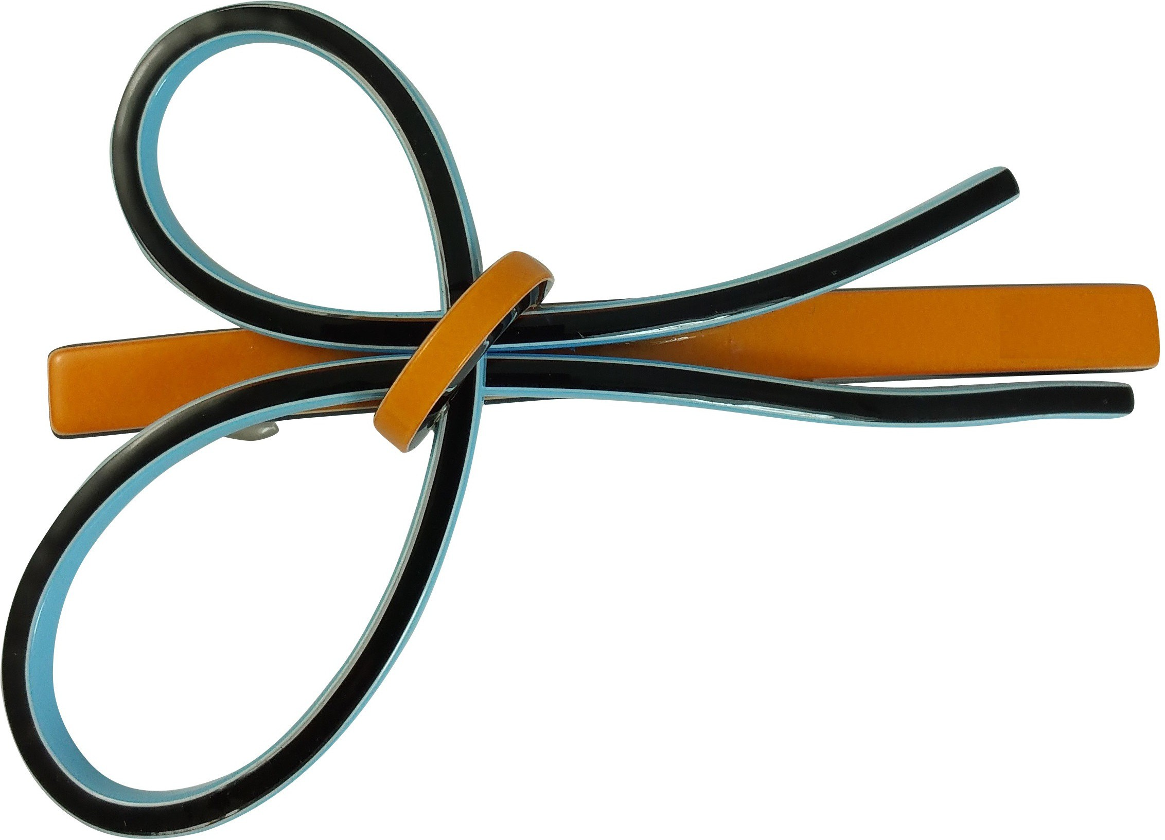Ammvi Creations Sleek Bow Delightful for Women Hair Clip(Multicolor)