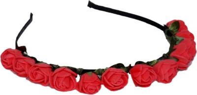 Idha Red Roses Valentine Hair Band