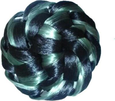 Ragahv Hairs Black Grey Hair Bun