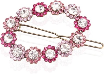 Sparkle Street Pink Wreath Hair Clip