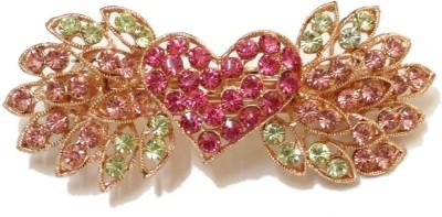 Trendz Collections Heart Design Hair Clip