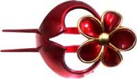 Modish Look Bun Collection Hair Clip(Red)