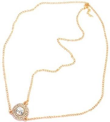 Crunchy Fashion Contemporary Style Diva Head Chain Hair Chain
