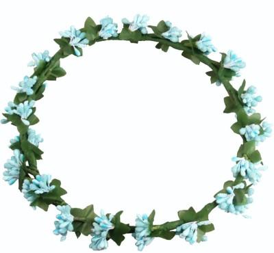 Loops n knots Princess Blue Head Band
