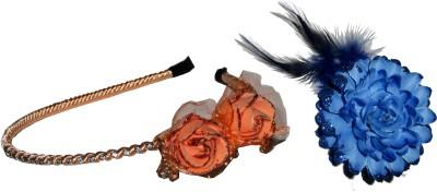 Samyak Floral Style Hair Accessory Set(Multicolor)