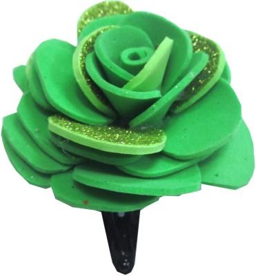 Apeksha Arts Floral Tic Tac Design With Flower Hair Pin