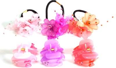 Samyak Floral Designed Hair Accessory Set