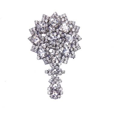 Traditsiya Stoned Diamante Hair Clip