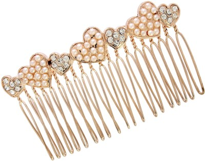 20Dresses Shape Of My Heart Hair Clip(Gold)
