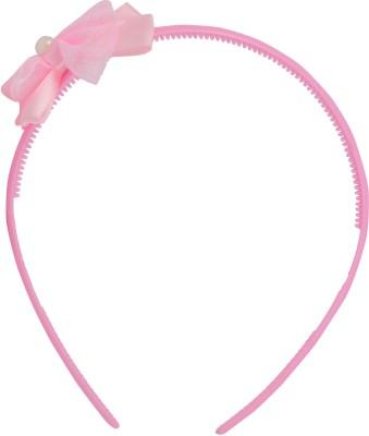 Angel Glitter Polka Bow with Cultured Pearl Hair Band