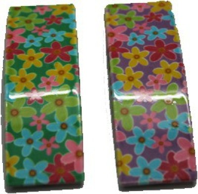 Oshin Enterprises Floral Tic Tac Clip Hair Clip