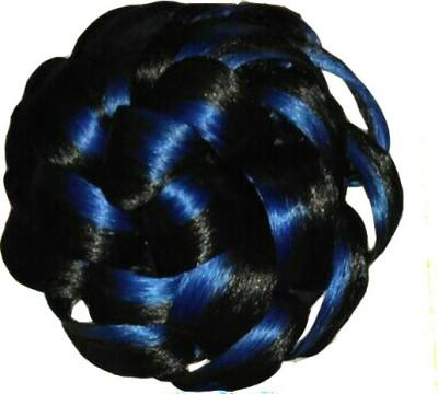 Ragahv Hairs Blue Black Hair Bun
