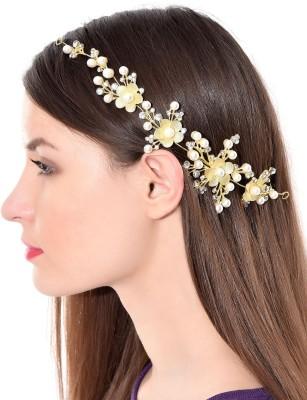 Prita Multipurpose Party Wear Stylish Floral Hair Clip Hair Pin
