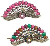 yueton Pack of 2 Women Girls Interesting Vintage Crystal Rhinestone Peacock Hollow Hair Clip Hairpin Retro Headwear Beauty Hair Accessories Hair Clip( best price on Flipkart @ Rs. 1774