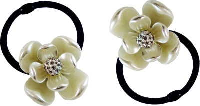Trendy Nuts Lotus Pearls Rubber Band