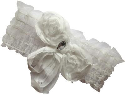 BabyZinnia Floral Lace Pearl Princess Head Band