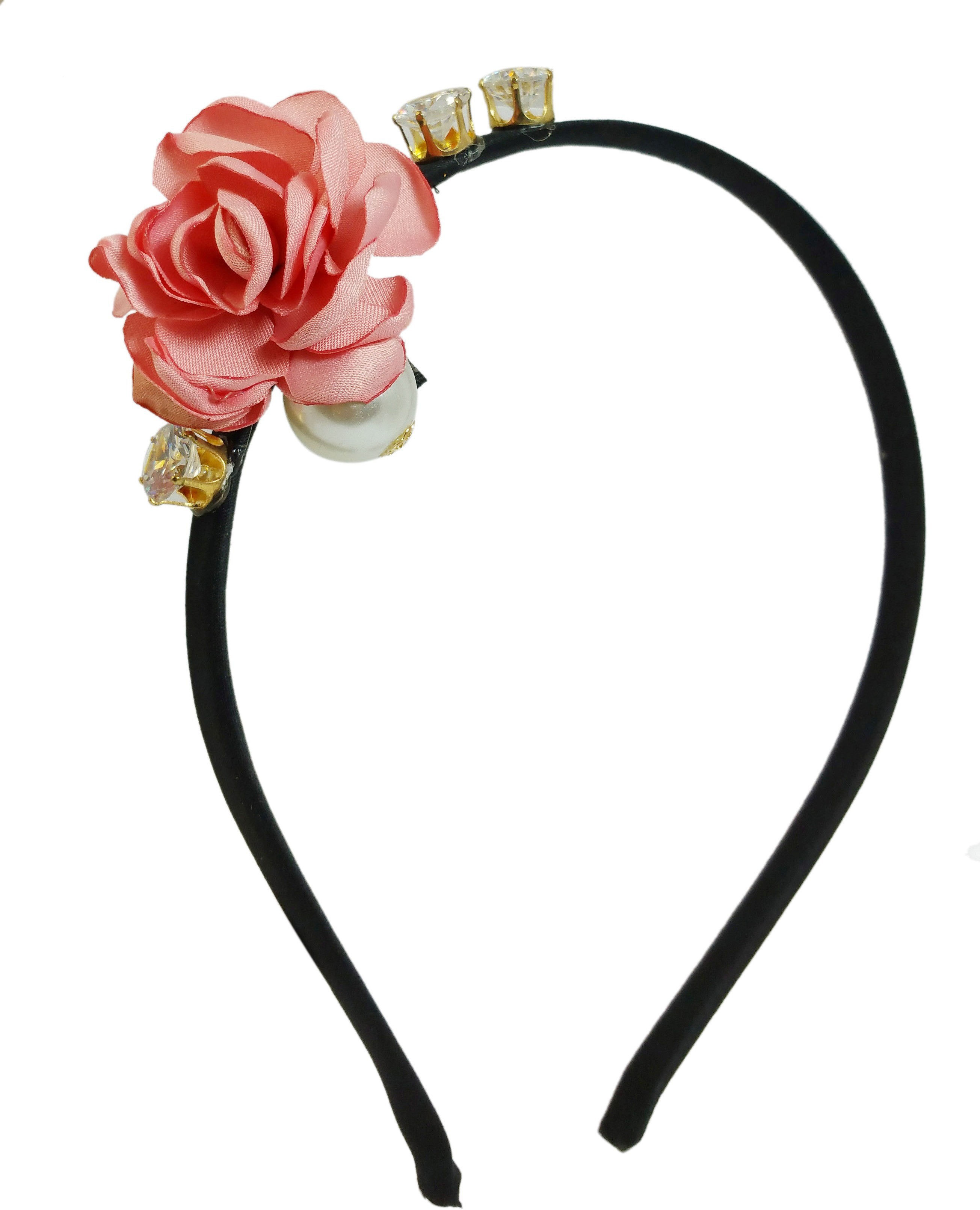 Ammvi Creations Princess Diva Delightful Life-Like Charms Exclusive for Women Hair Band(Multicolor)
