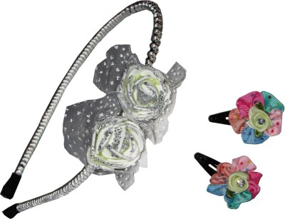 Gd Floral Tic-Tac Hair Accessory Set