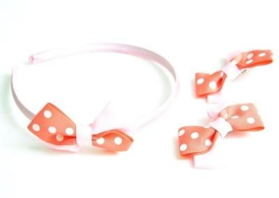 Pretty Women Fiber Hair Accessory Set(Pink)