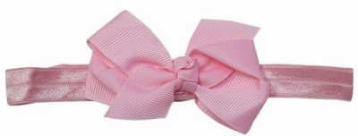 Pink & Blue India Cute Bow Basics with Soft Lace Head Band