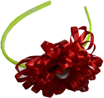 Apeksha Arts Red Floral Hair Band Head Band