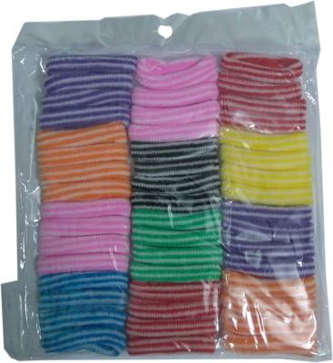 FashionFundamentals Woolen Elastic Rubber Band