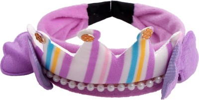 Super Drool Purple Princess Crown Hair Band
