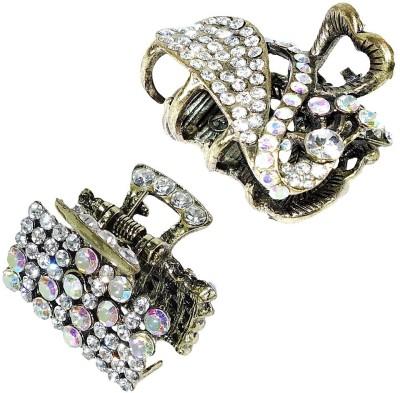 Anjan Desigener Combo Diamond Studded Antique Accessories Hair Pin
