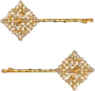 B-Fashionable Rhombus Pearl Bobby Hair Pin