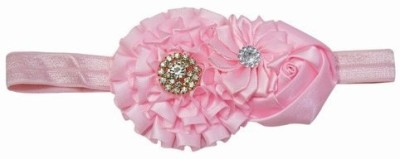 Pink & Blue India Classy Three Floral Baby Girls Head Band