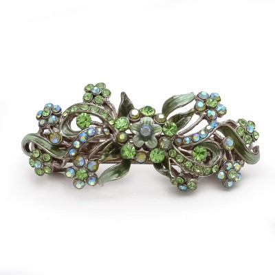 Be You Green Stones Meena Work Hair Clip