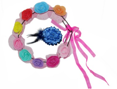 GD Pink Tiara with Tic-Tac Hair Accessory Set
