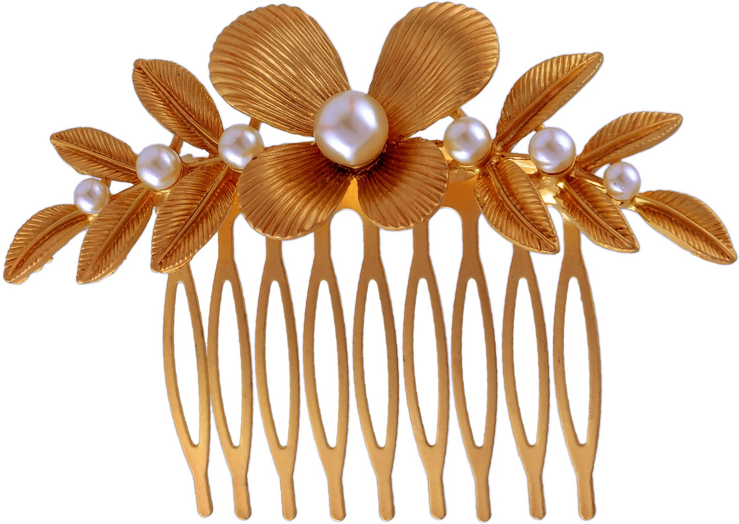 K.R.S. Jewels H19 Hair Clip(Yellow)