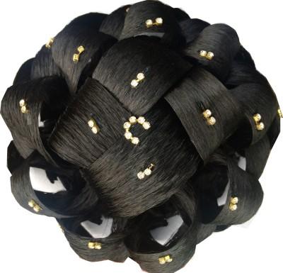 Ragahv Hairs Two Stone Fitted Hair Bun